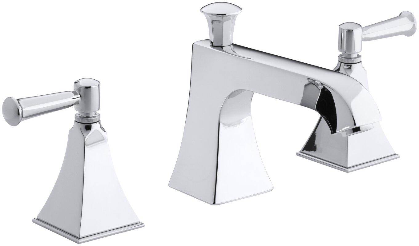 Bathroom Faucet Not Flowing kohler memoirs stately deck-mount bath faucet trim for high-flow