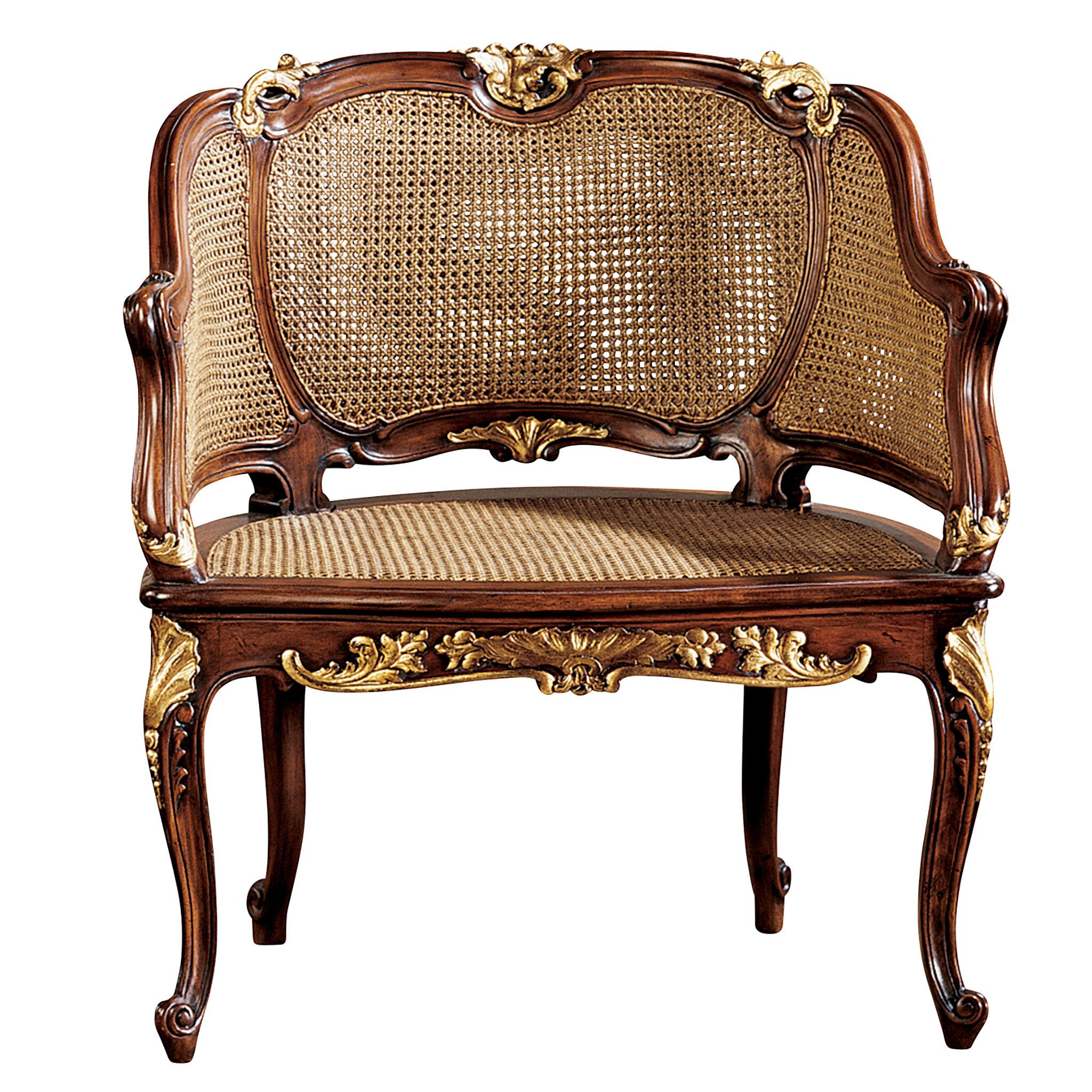 Beau Design Toscano Louis XV French Armchair U0026 Reviews | Wayfair