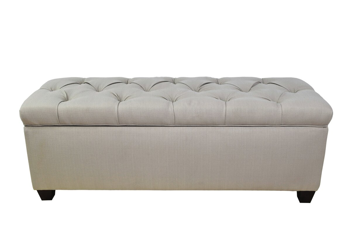 Great Sachi Fabric Storage Bench
