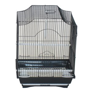 Cornerless Flat Top Bird Cage