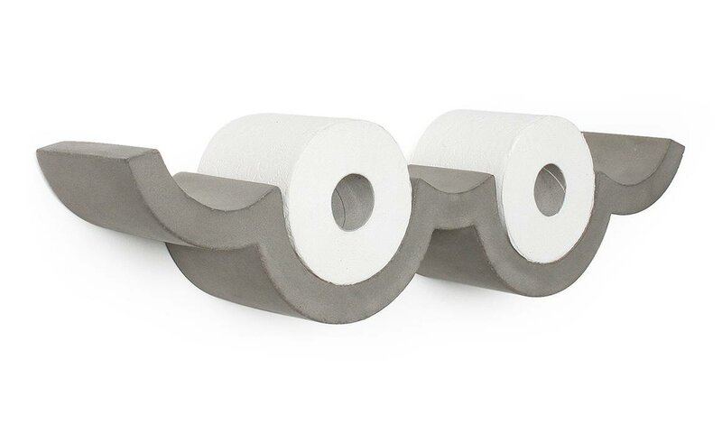 Cloud S Wall Mount Toilet Paper Holder