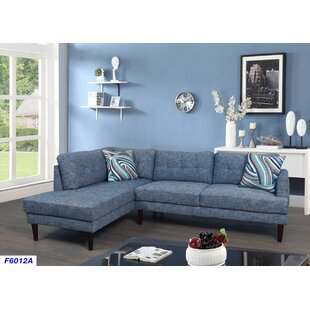 Light Blue Sectional | Wayfair