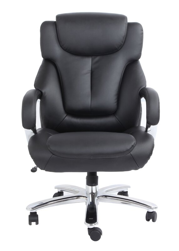 Comfort Products Admiral III High-Back Leather Executive Chair ...