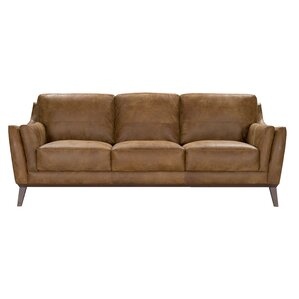 Blake Leather Sofa by Corrigan Studio