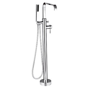 Standard Tub Faucet Single Handle with Shower Wand