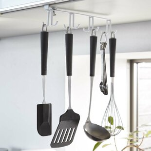 Plate Under Shelf Wall Mounted Pot Rack