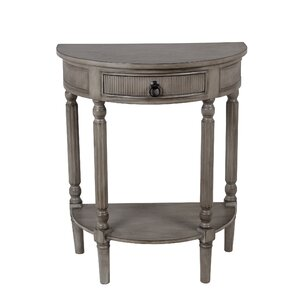 Trumbell Half Round Side Table