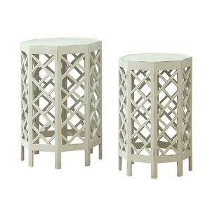 Mayenne 2 Piece Nesting Tables by One Allium Way