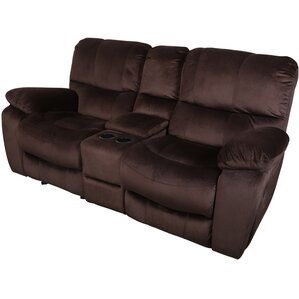 Gracehill Solid Reclining Loveseat by Three Posts