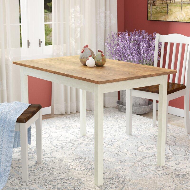 Dark Wood Dining Table | Wayfair