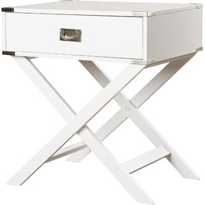 Awesome Joanne 1 Drawer End Table