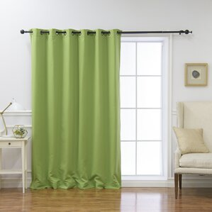 blackout bedroom curtains. Scarsdale Extra Solid Blackout Thermal Grommet Single Curtain Panel Curtains You ll Love  Wayfair