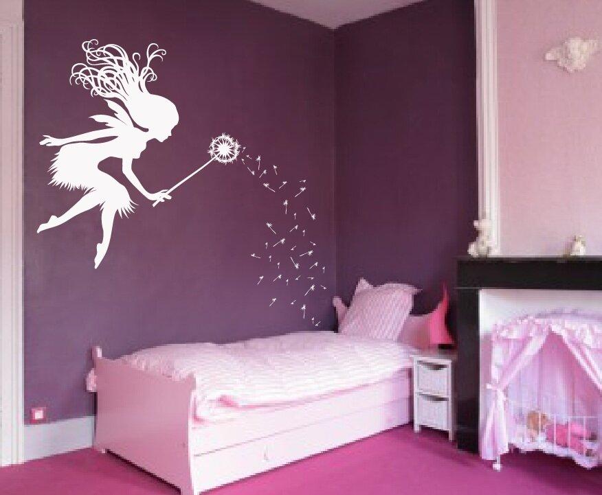 Merveilleux Fairy Tale Dandelion Wand Nursery Wall Decal