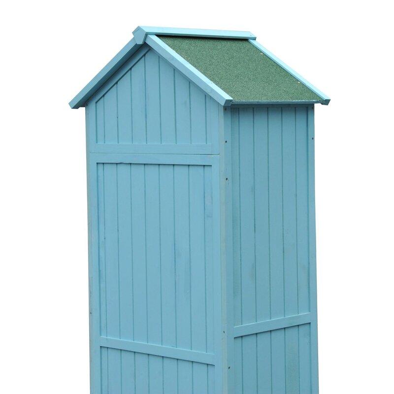 Garden Sheds 2 5 X 1 5 bel Étage 2.5 ft. x 1.7 ft. wooden garden shed & reviews | wayfair