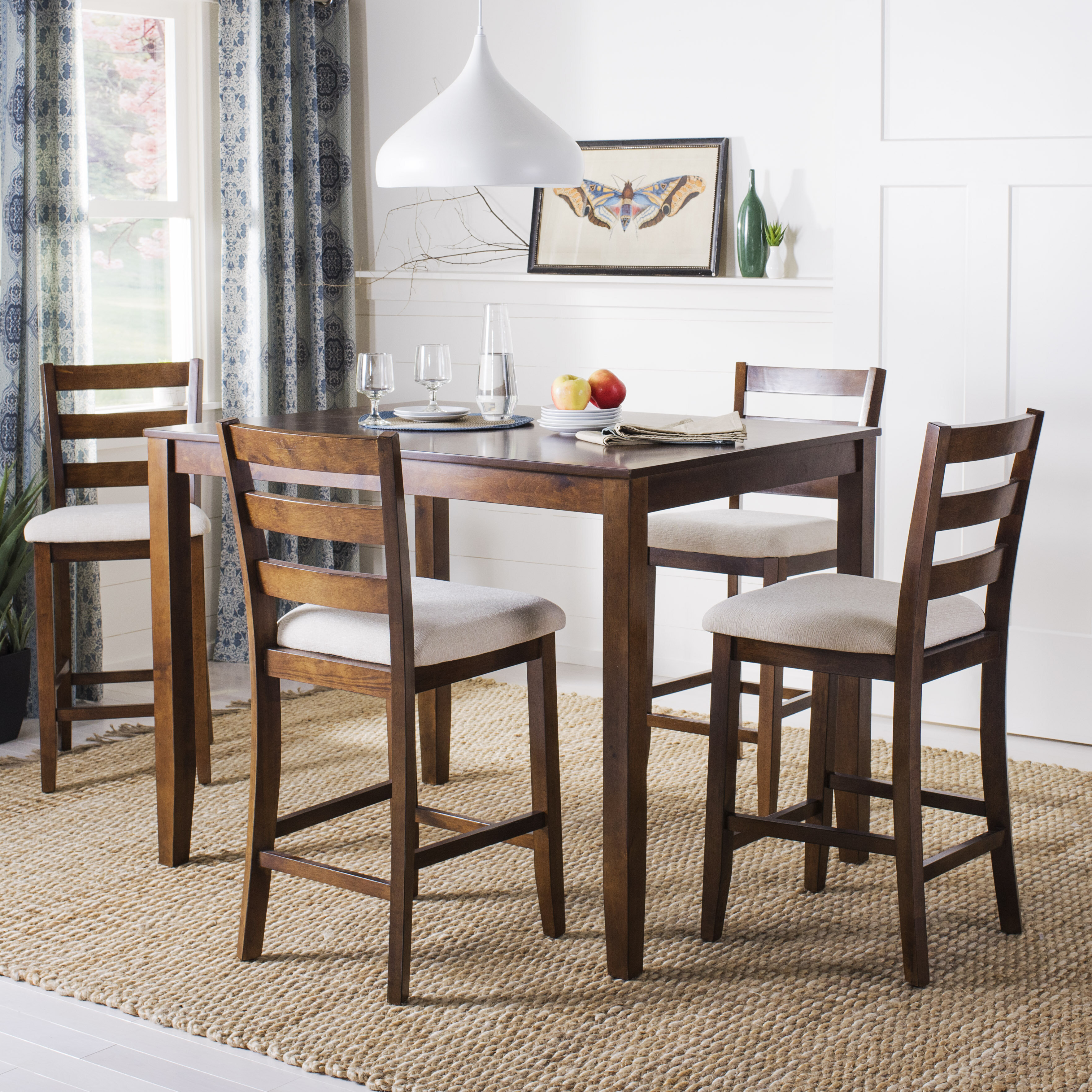 Alcott hill hervey bay 5 piece pub table set wayfair