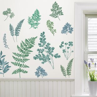 Garden Home Wall /& Tile Sticker Pack Vinyl Decals Forest Leaves /& Greenery
