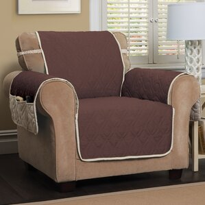 Five Star Box Cushion Armchair Slipcover by ..