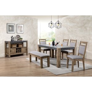 Costabella 6 Piece Dining Set by Roundhill Furniture