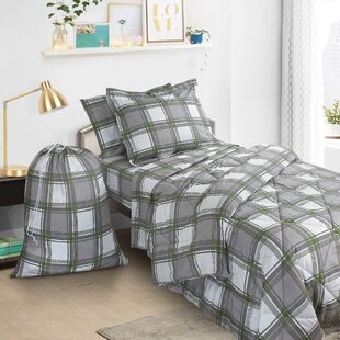 Boler 6 Piece Twin Bed In A Bag Set