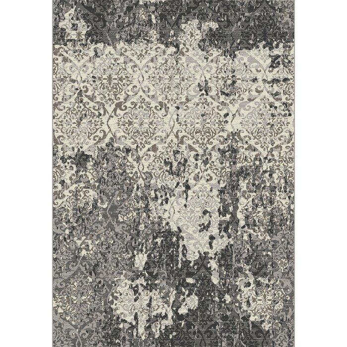Florance Dark Grey Area Rug