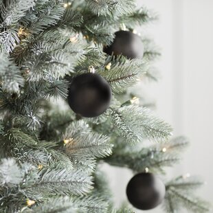 Black Christmas Ornaments.Ball Black Christmas Ornaments You Ll Love In 2019 Wayfair