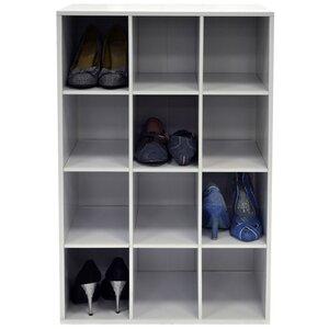 Schuhregal für 12 Paar Schuhe von House Additions