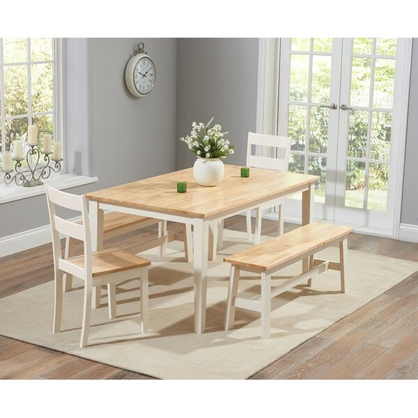 Breakwater Bay Beecher Falls Dining Set With 2 Chairs And