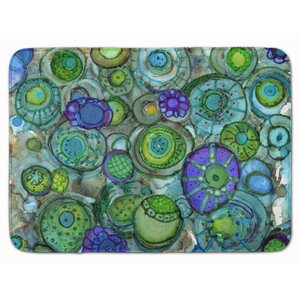 Abstract Memory Foam Bath Rug