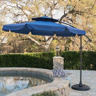 Simplot Outdoor Sunshade 9.5u0027 Cantilever Umbrella