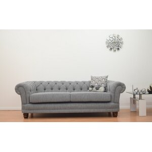 Carly 3 Seater Chesterfield Sofa