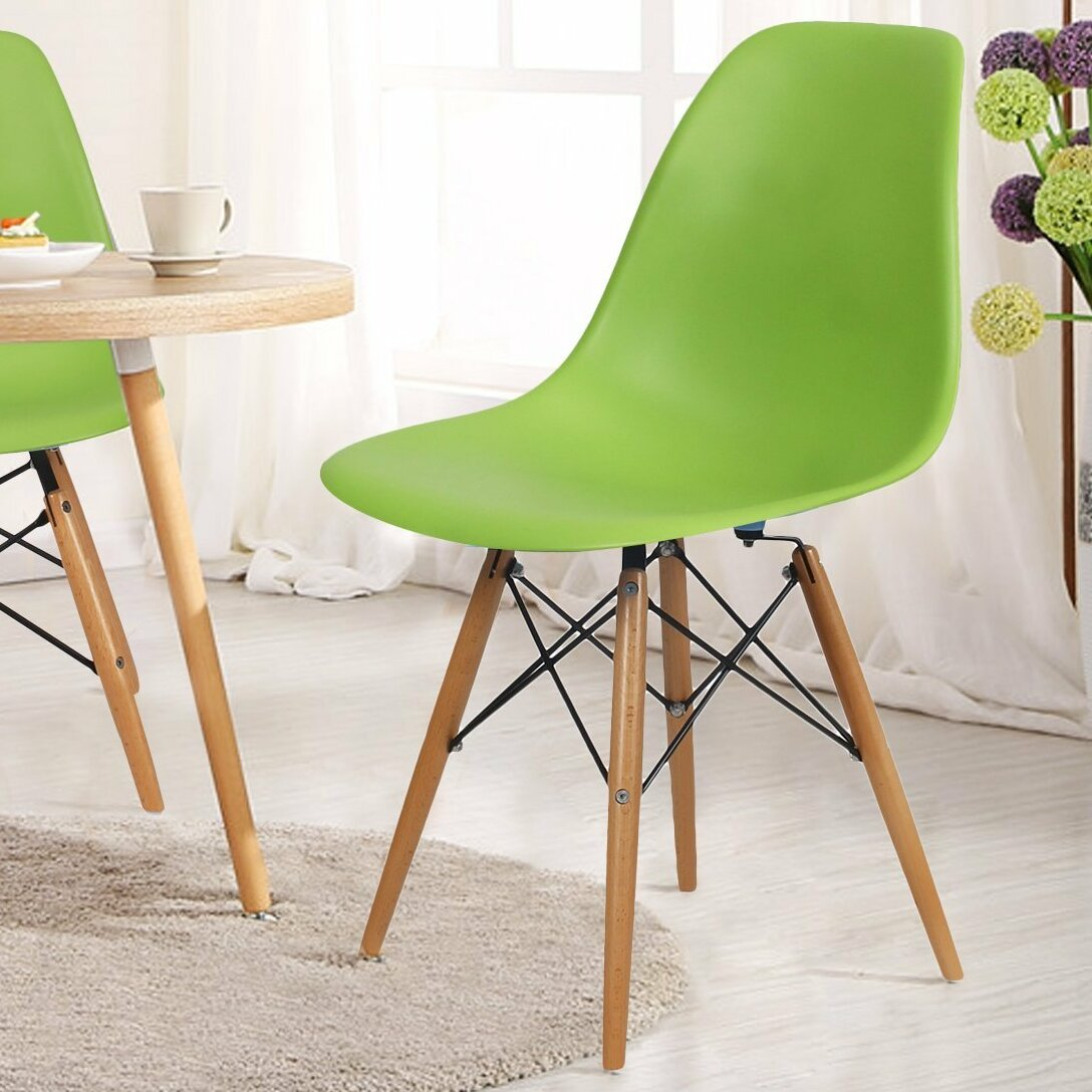 Kitchen Bar Greenside: AdecoTrading Patio Dining Chair & Reviews