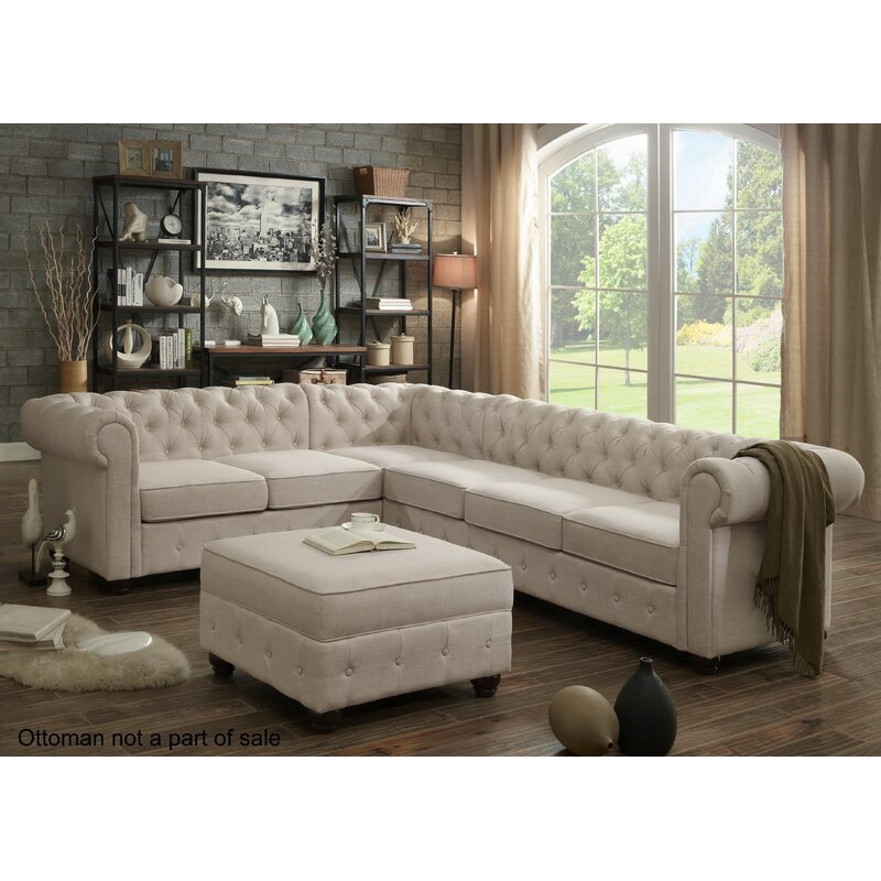 Mulhouse Furniture Garcia Sectional Collection & Reviews