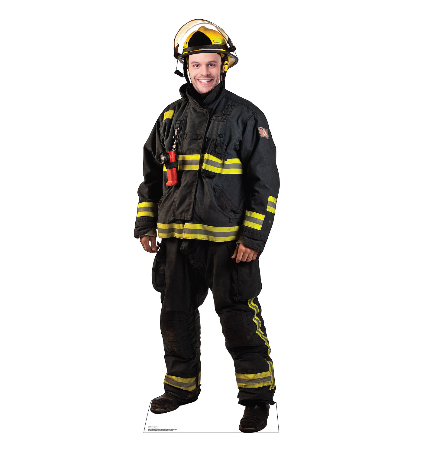415feb097b86 Advanced Graphics Fireman Life-Size Cardboard Cutout Stand-In