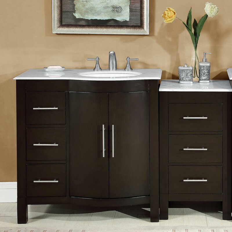 Charlton Home Alois 54 Single Bathroom Vanity Set Wayfair