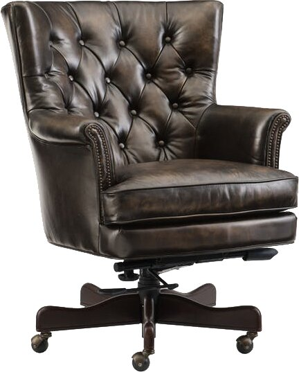 Theodore Home Office High Back Leather Executive Chair