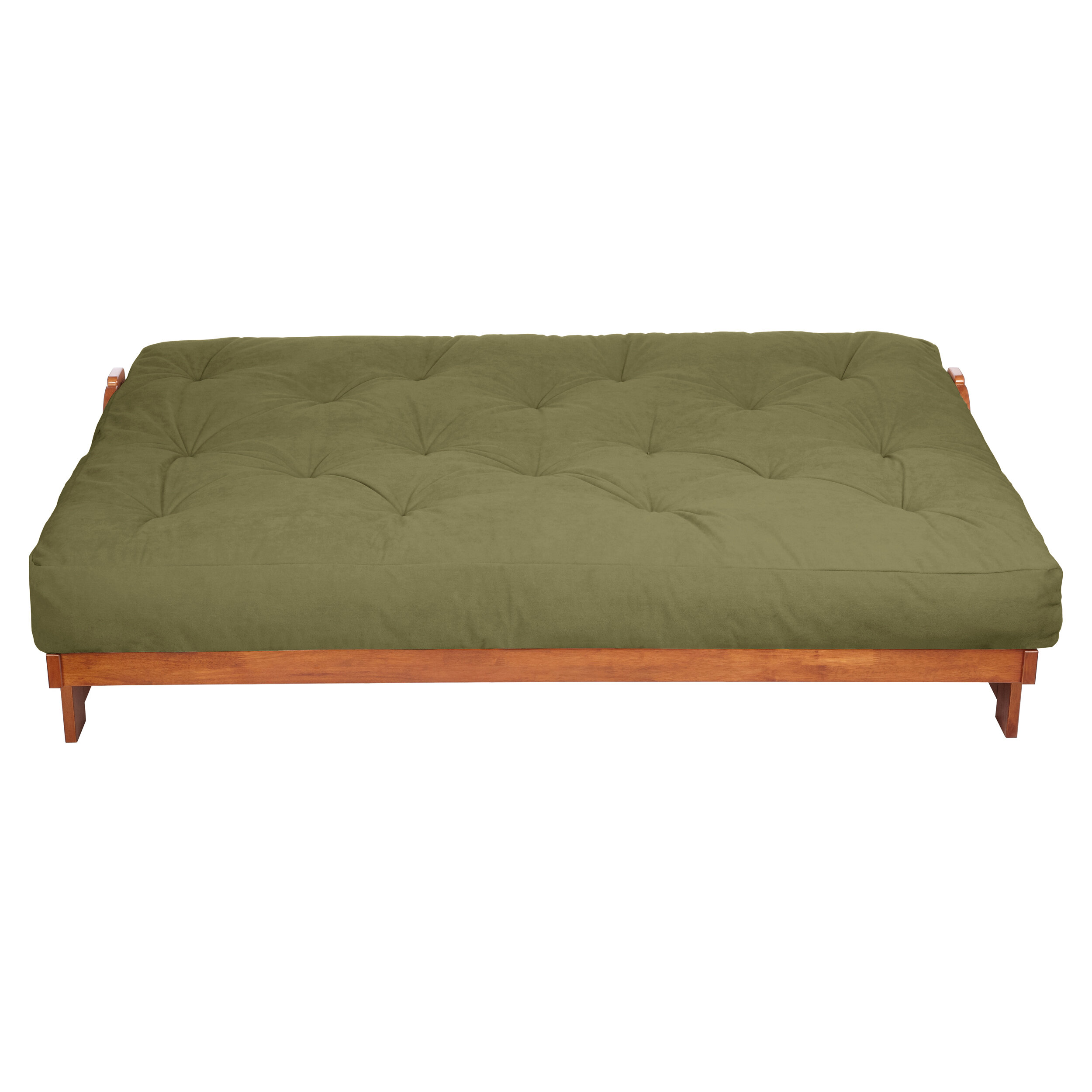 Mozaic Company 10 Suede And Gel Pocket Coil Futon Mattress Reviews Wayfair