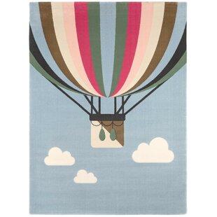Balloons Grey Area Rug by Saint Clair Paris