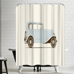 Florent Bodart Car Shower Curtain