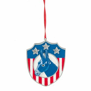 Specialty Democrat Donkey Ornament