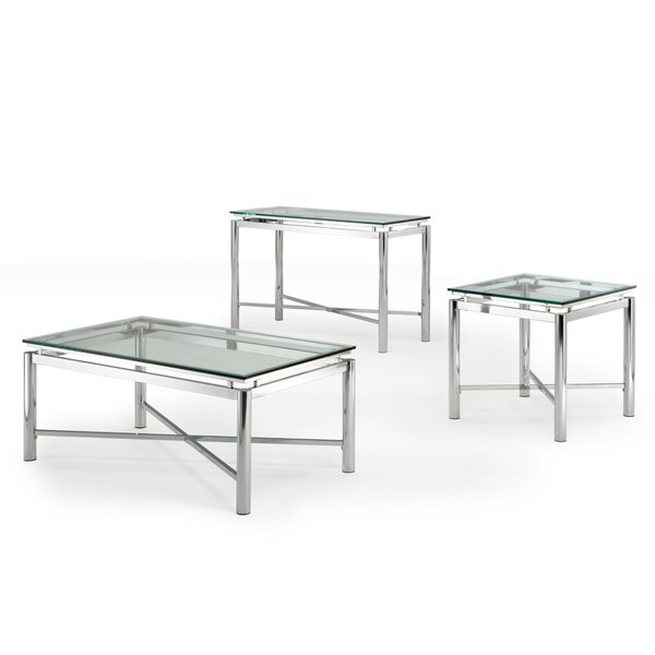 Amazing Steve Silver Furniture Nova Coffee Table Set U0026 Reviews | Wayfair