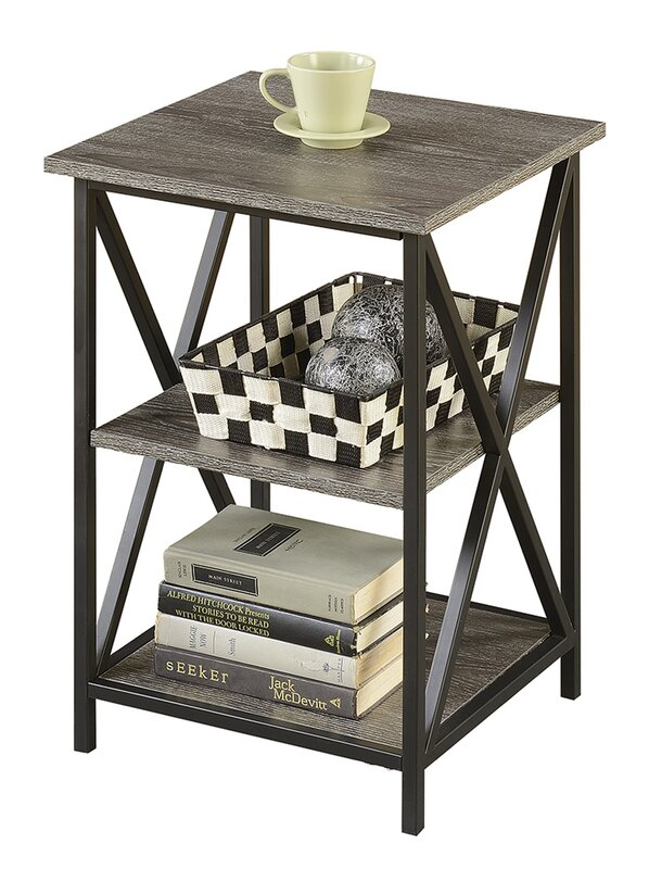 Stroud 3 Tier End Table