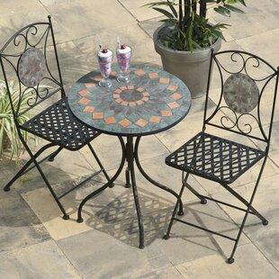 Metal Garden Furniture Sets Uk Metal garden furniture sets wayfair cairo 2 seater bistro set workwithnaturefo