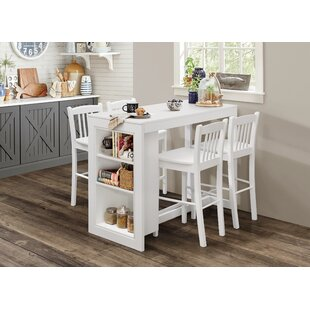 Meidinger Solid Wood Counter Height Dining Table