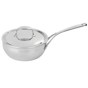 Atlantis 7 Ply Stainless Steel Saucier With Lid