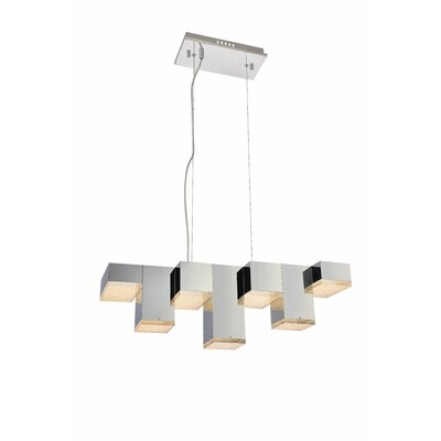 Corbyn 7 light led kitchen island pendant