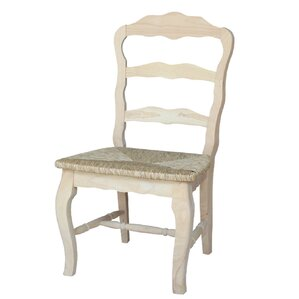 Versailles Solid Wood Dining Chair (Set of 2) by International Concepts