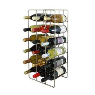 Nice 18 Bottle Floor Wine Rack Wayfair. Marvellous Design Gold ...