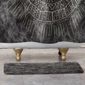 Celestial Dot Bath Rug