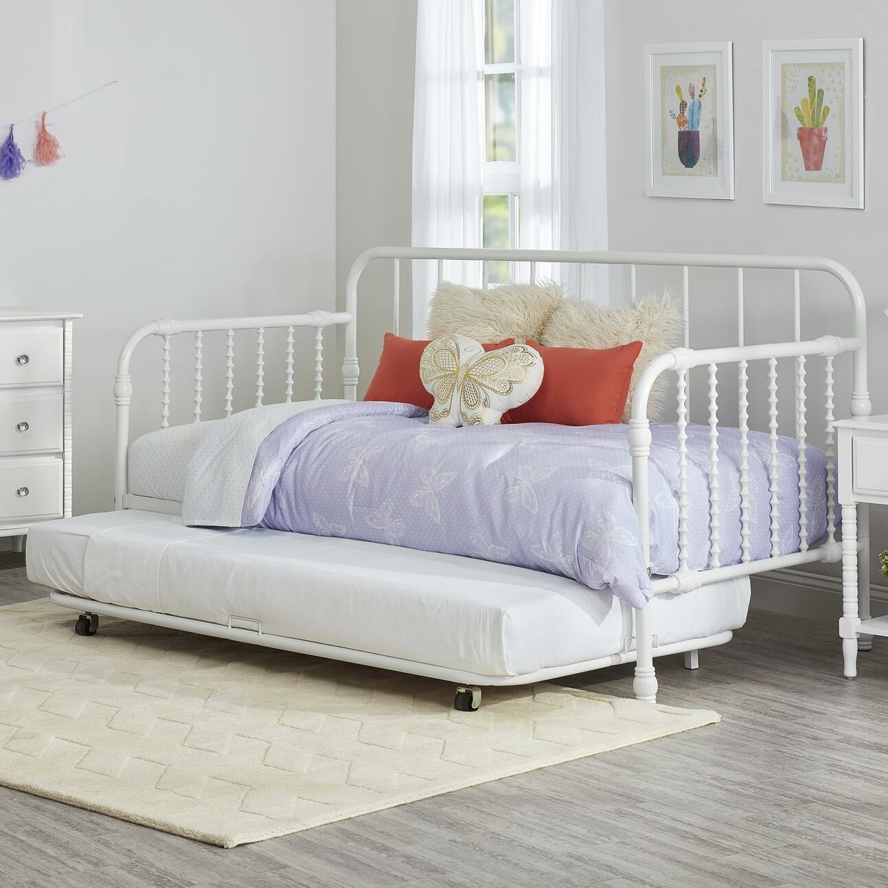 little seeds monarch hill wren daybed with trundle reviews wayfair