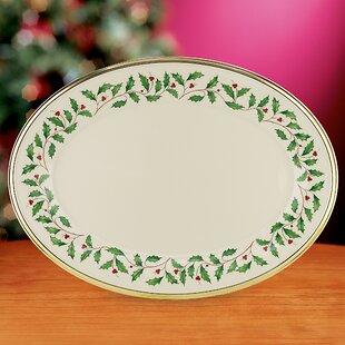 Holiday Oval Platter. by Lenox & Lenox Holiday Tartan China   Wayfair